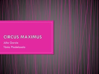 Circus Maximu