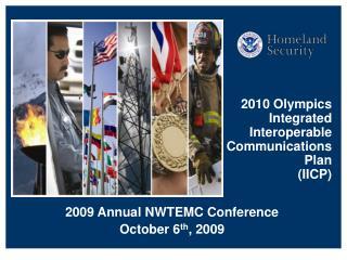 2010 Olympics Integrated Interoperable Communications Plan  IICP