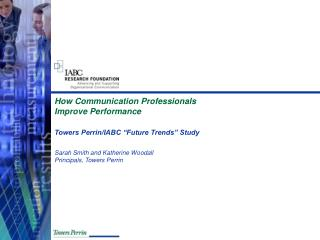 How Communication Professionals Improve Performance