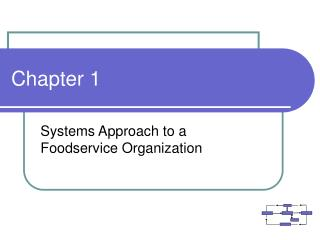 Systems Approach to a Foodservice Organization