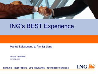 ING s BEST Experience