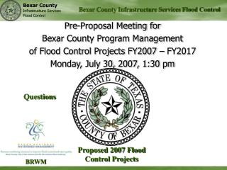 Bexar County Infrastructure Services Flood Control