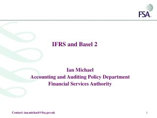IFRS and Basel 2