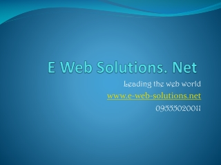 Website Designing Packages in Delhi