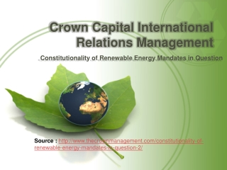 Crown Capital Eco Management - Google  - Crown Capital Inter