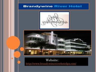 Brandy wine river hotel
