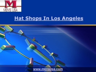 Hat Shops In Los Angeles
