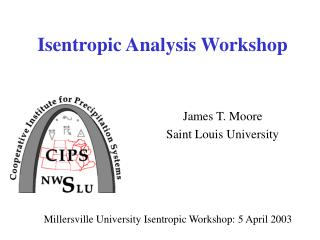 Isentropic Analysis Workshop
