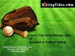 Baseball Softball Hitting Pitching Instructional Video,DVD