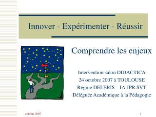 Innover - Exp rimenter - R ussir