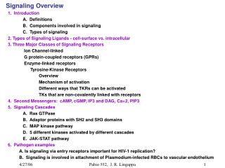 Signaling Overview