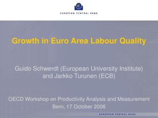 Growth in Euro Area Labour Quality