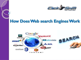 How Does Web Search Engine Works?