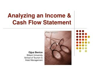 Analyzing an Income  Cash Flow Statement