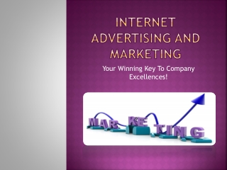 Internet Advertising and marketing: Your Winning Key To Comp