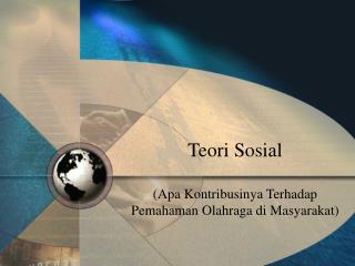 Teori Sosial