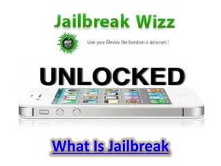 What Is Jailbreak