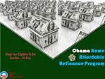 Benefits For Qualifying Making Home Affordable Refinance Pro