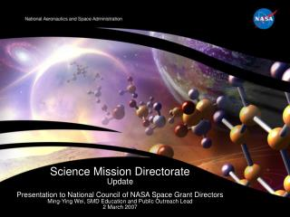 Science Mission Directorate Update