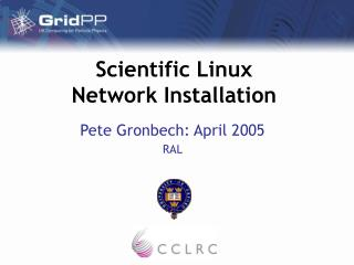 Scientific Linux Network Installation