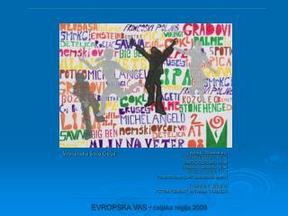 EVROPSKA VAS - celjska regija 2008