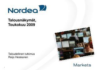 Talousn kym t,  Toukokuu 2009