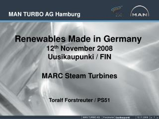 MAN TURBO AG Hamburg