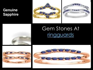 gem stones at ringguards