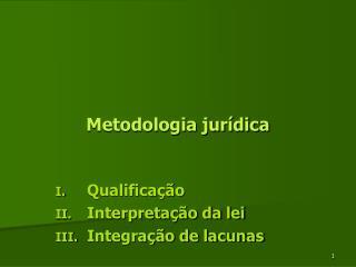 Metodologia jur dica