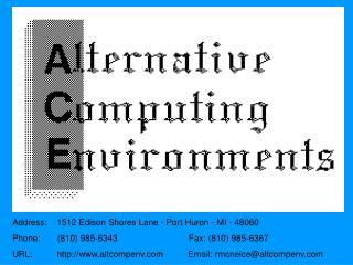 Address:    1512 Edison Shores Lane - Port Huron - MI - 48060 Phone:       810 985-6343                             Fax: