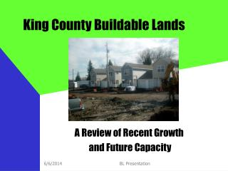 King County Buildable Lands