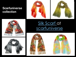silk Scarf at scarfuniverse
