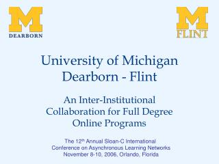 University of Michigan Dearborn - Flint