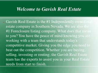 Las vegas real estate for sale
