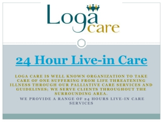24 hour live-in care