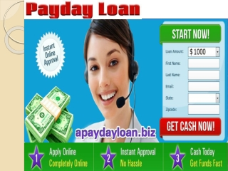 Payday Loans for People on Benefits