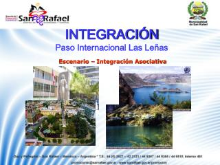 INTEGRACI N Paso Internacional Las Le as