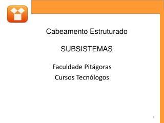 Faculdade Pit goras   Cursos Tecn logos