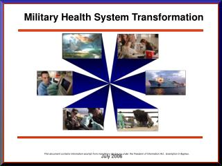 Military Health System Transformation