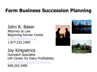 Farm Business Succession Planning