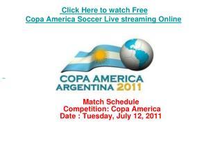 watch chile vs peru copa america soccer live streaming onlin