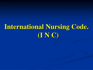 ETHICAL    PROFESSIONAL  RESPONSIBILITIES  IN  NURSING