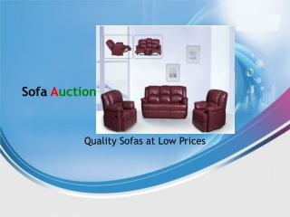 Sofa Sale at Sofa Auction