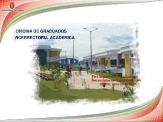 OFICINA DE GRADUADOS
