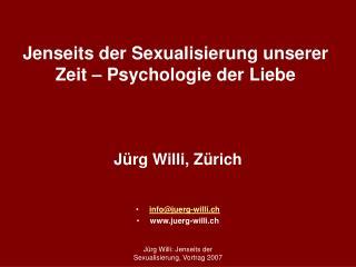 Jenseits der Sexualisierung unserer Zeit   Psychologie der Liebe