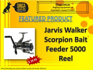 Jarvis Walker Scorpion Bait Feeder 5000 Spinning Reel