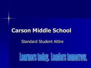 Carson Middle School