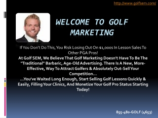 golfsem-Golf Marketing Companies
