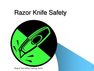 Razor Knife Safety
