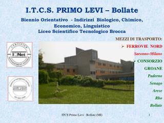 ITCS Primo Levi - Bollate MI